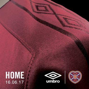 Banda loghi Umbro, maglia Heart of Midlothian