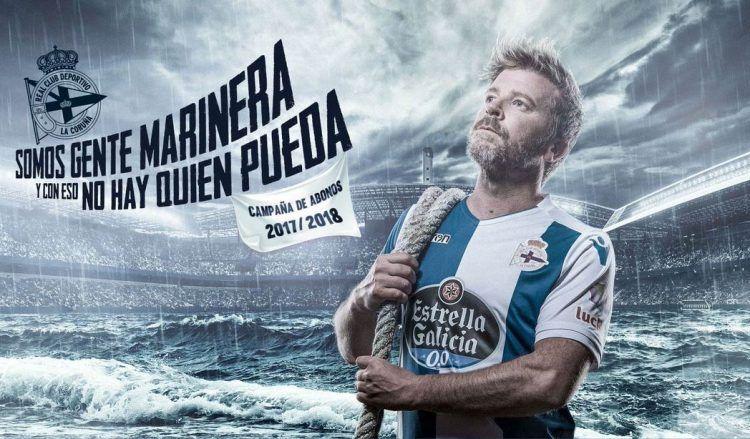 Campagna abbonamenti Deportivo La Coruna 2017-18