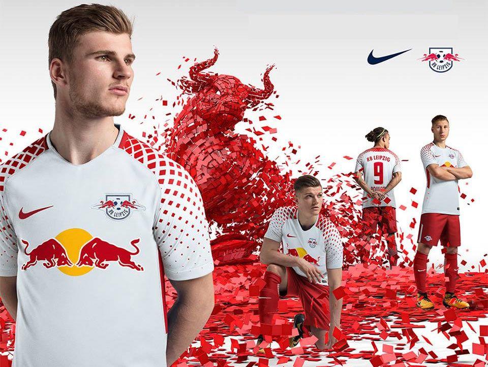 Le maglie gemelle di Red Bull Lipsia e Salisburgo 2017-2018
