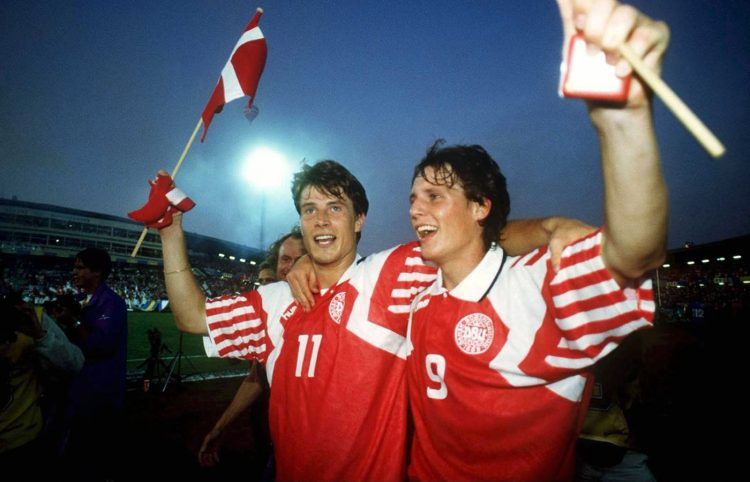 Danimarca Home Euro '92, Brian Laudrup, Flemming Povlsen