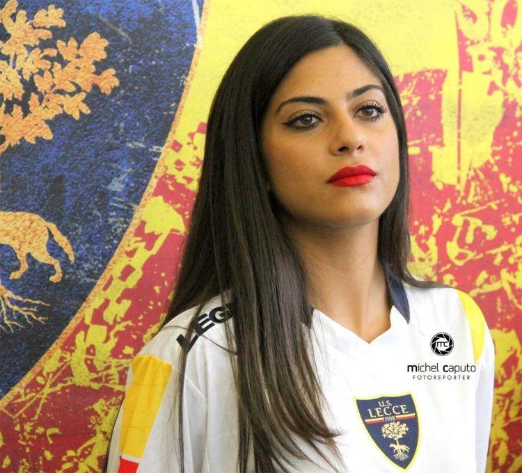 Seconda maglia Lecce 2017-2018 bianca