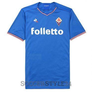 Maglia Fiorentina azzurra Santa Croce 2017-18