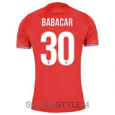 Maglia Fiorentina rossa Babacar 30