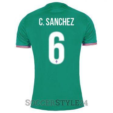 Maglia Fiorentina C.Sanchez 6 verde