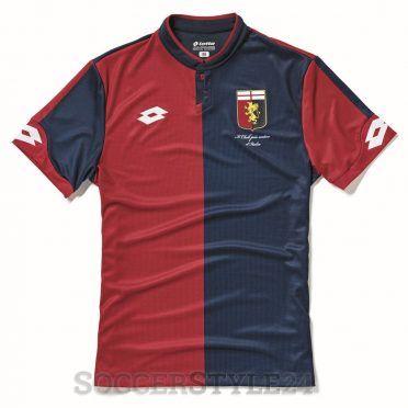 Maglia Genoa 2017-2018 rossoblù
