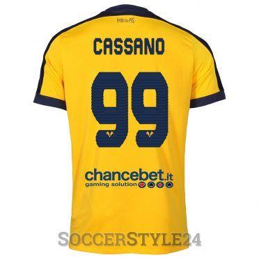 Maglia Hellas Verona Cassano 99 gialla