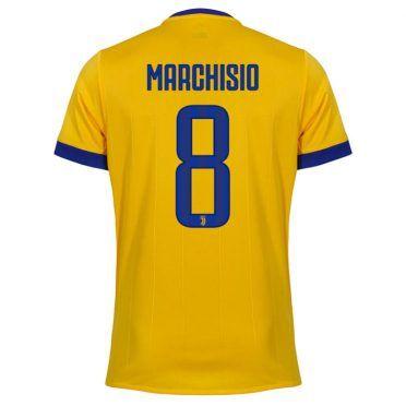 Maglia Juventus away Marchisio 8 gialloblù