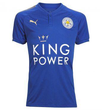 Maglia Leicester 2017-2018 Puma
