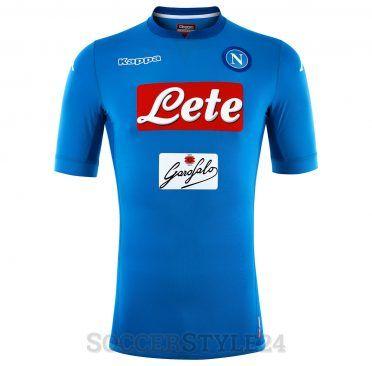 Maglia Napoli 2017-2018 azzurra