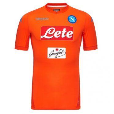 Maglia portiere Napoli arancione 2017-2018