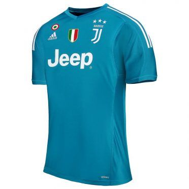 Maglia portiere Juventus 2017-2018 azzurra