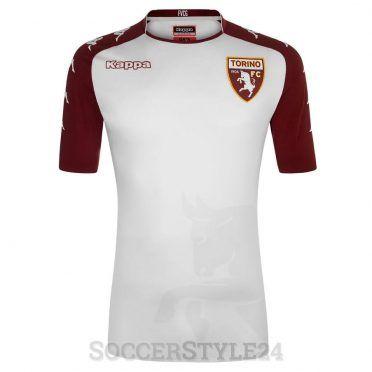 Seconda maglia Torino 2017-2018 bianca