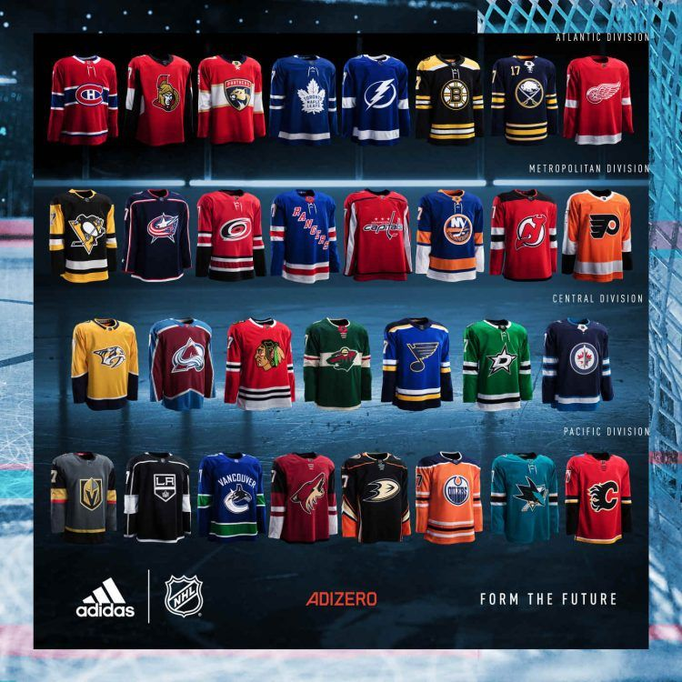 Maglie Jerseys Sweaters NHL 2017-2018