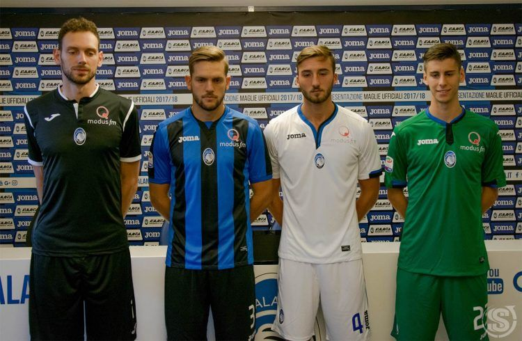 Le nuove maglie dell'Atalanta 2017-2018