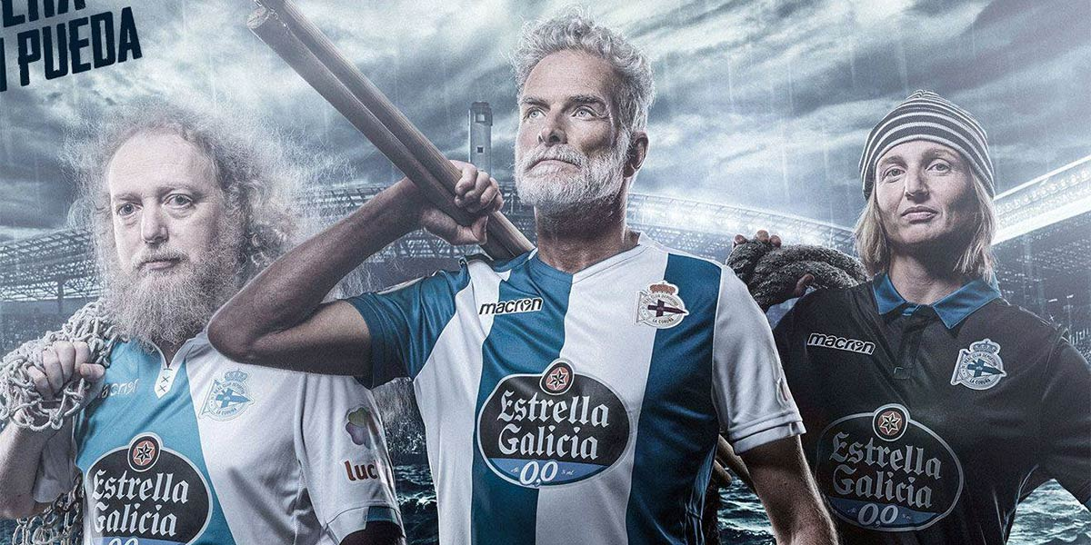 Maglie Deportivo La Coruna 2017-2018