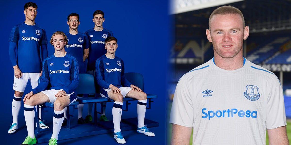 Maglie Everton 2017-2018 Umbro