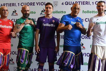 Maglie Fiorentina 2017-2018 Le Coq Sportif