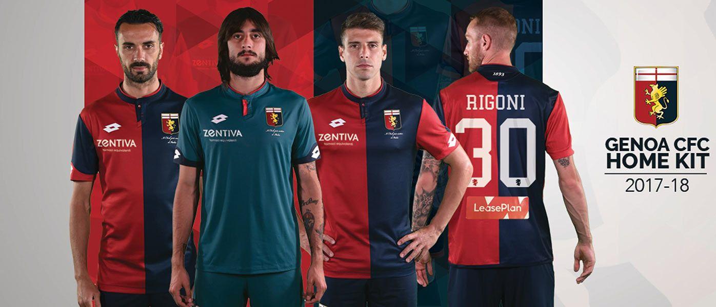Nuove maglie Genoa 2017-2018 Lotto