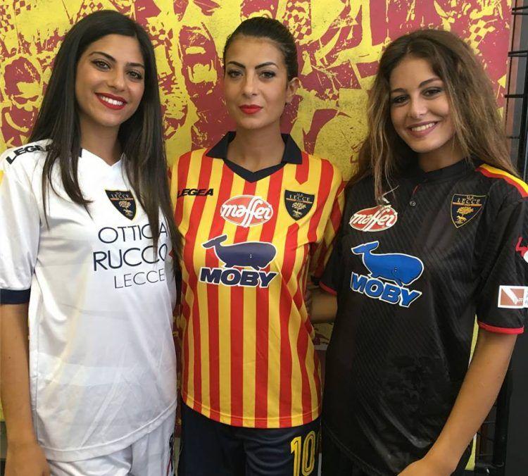 Maglie Lecce Calcio 2017-2018