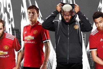 Presentazione maglia Manchester United 2017-2018