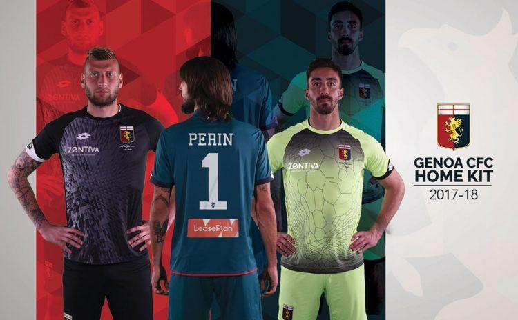 Maglie portiere Genoa 2017-2018