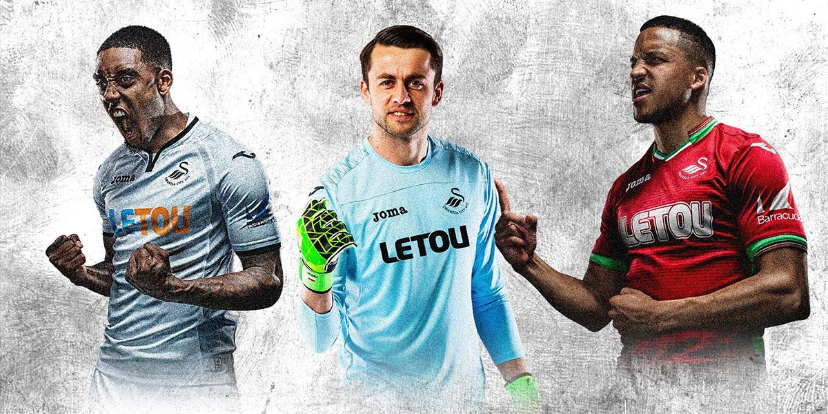 Maglie Swansea 2017-2018 Joma