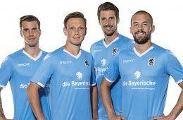 Nuova maglia Monaco 1860 2017-18