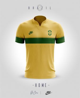 Nike Sportswear Brasile Home