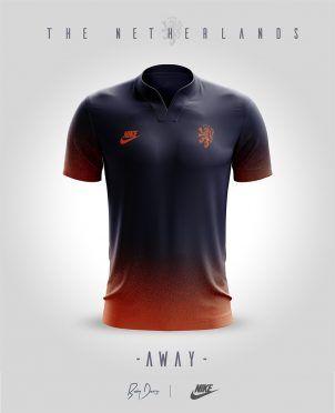 Nike Sportswear Olanda Away