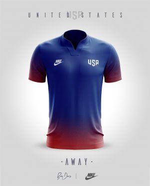 Nike Sportswear Stati Uniti Away