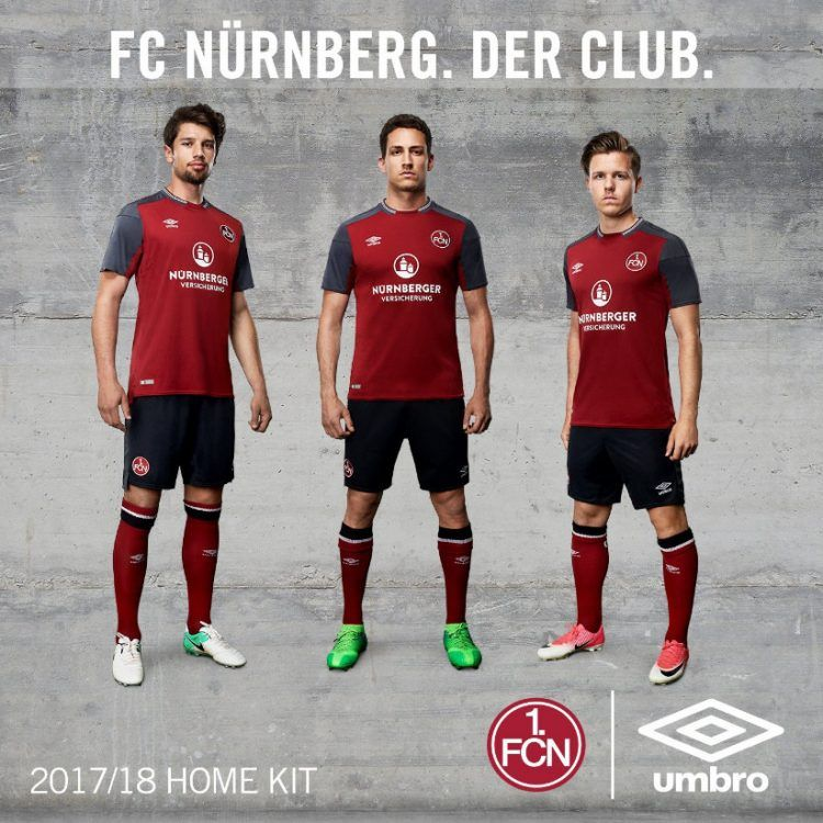 Divisa Norimberga Nürnberg 2017-2018 home