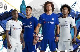 Le maglie del Chelsea 2017-2018 firmate Nike