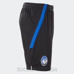 Riga azzurra calzoncini Atalanta neri