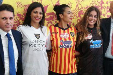 Presentazione maglie Lecce 2017-2018