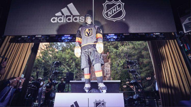 Presentazione NHL Adidas Vegas Golden Knights