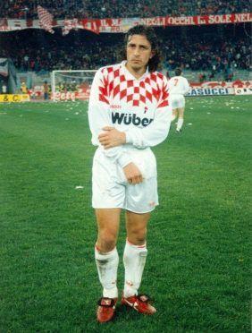Protti maglia Bari 1994-95