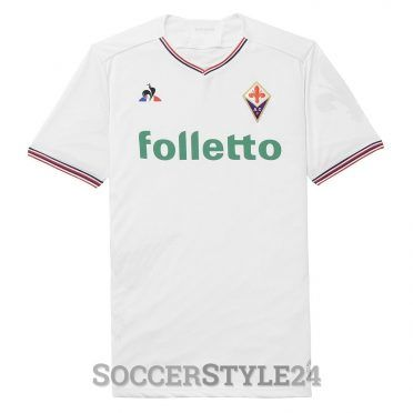 Seconda maglia Fiorentina 2017-18 bianca