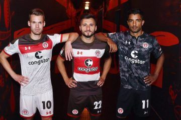 Maglie St. Pauli 2017-2018 Under Armour