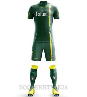 Terza maglia ChievoVerona 2017-2018 verde