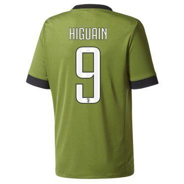 Higuain 9 terza divisa Juventus