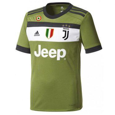 Terza maglia Juventus 2017-2018 verde