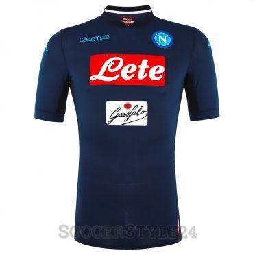 Terza maglia Napoli 2017-2018 blu