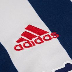 Logo adidas rosso, maglia WBA