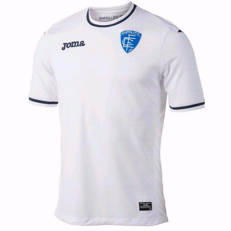Seconda maglia Empoli 2017-2018 bianca