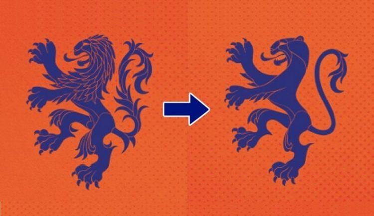 Stemma Leonessa Olanda nazionale femminile