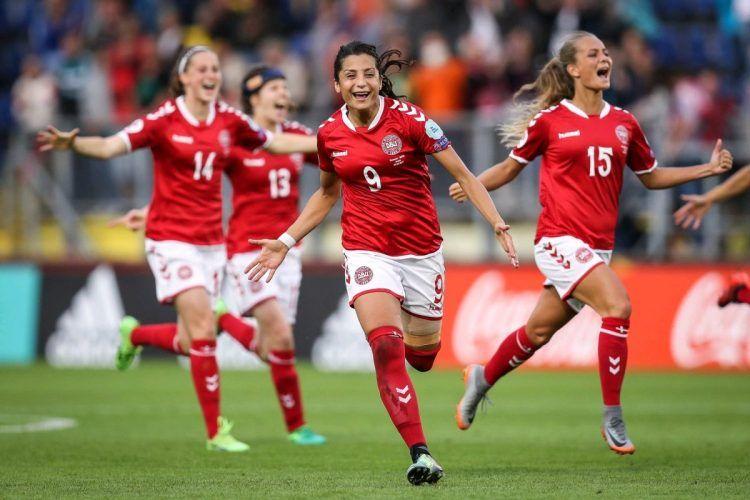 Danimarca, maglia Europei 2017 donne