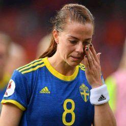 Maglia Svezia trasferta femminile 2017