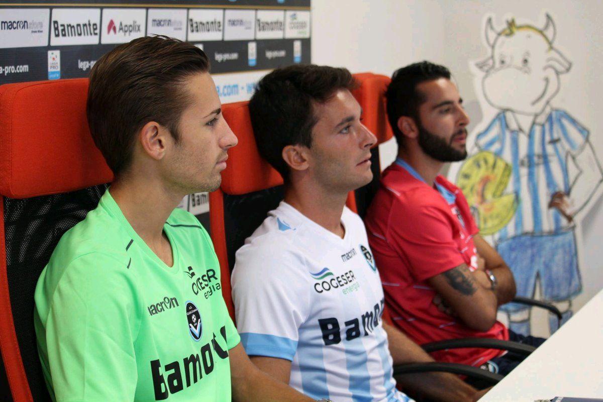 Le maglie della Giana Erminio per la Serie C 2017-2018