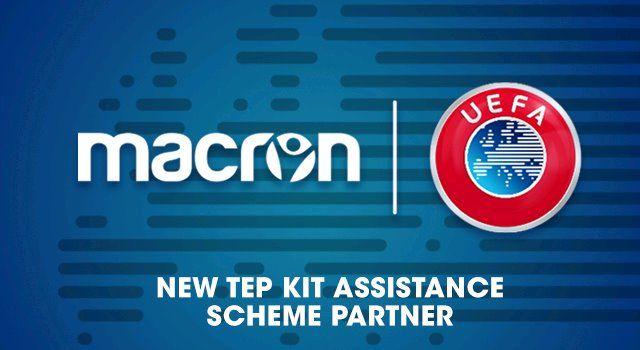 Macron partner UEFA