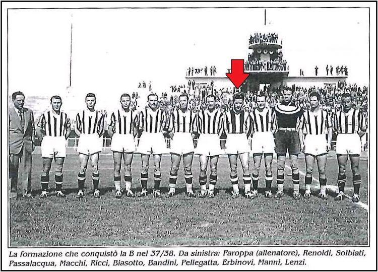 Formazione Siena Calcio 1937-1938